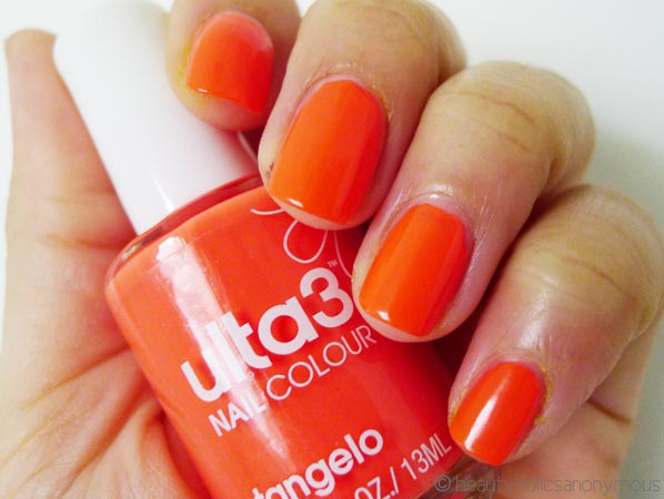 Ulta3 Nail Polish in Tangelo