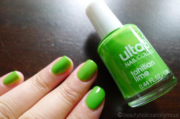 Ulta3 Nail Polish in Tahitian Lime