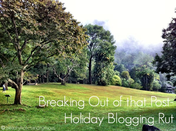 Bloggie Wednesdays: Breaking Out Of That Post-Holiday Blogging Rut