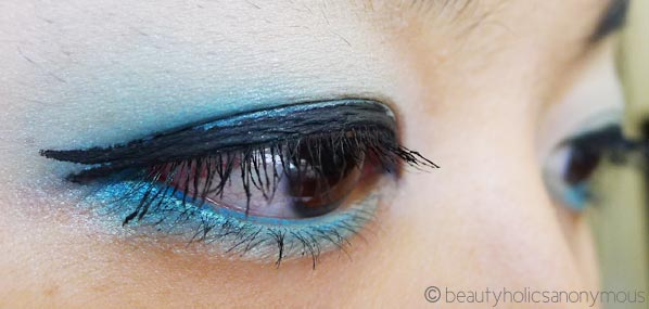 Eye Makeup Using Australis IntensifEye in Out of the Blue