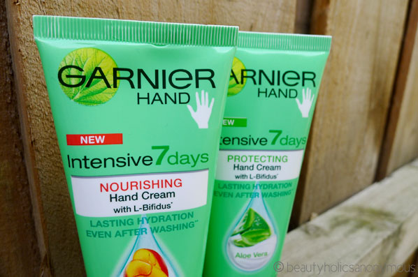 Garnier Intensive 7 Days Hand Creams