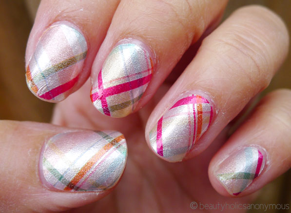 Sally Hansen Salon Effects in Mad For Plaid