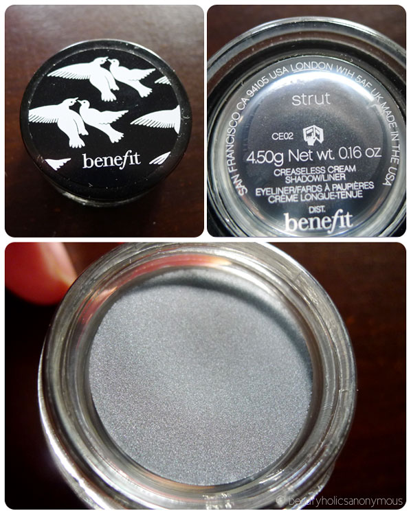 Benefit Creaseless Cream Shadow/Liner in Strut