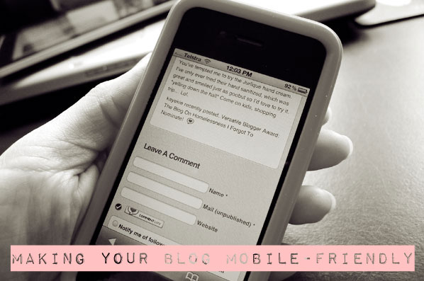Bloggie Wednesdays: Making Your Blog Mobile-Friendly