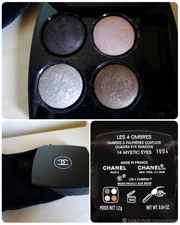 Chanel Les 4 Ombres Quad Eyeshadow in 14 Mystic Eyes