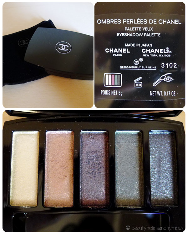 Chanel Ombres Perlees de Chanel