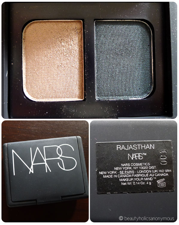 NARS Eyeshadow Duo in Rajasthan