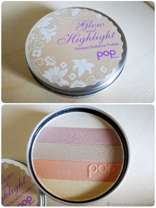 POP Glow and Highlight Pressed Radiance Powder