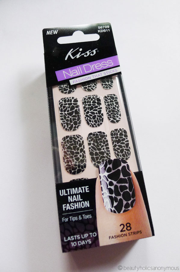 More Nail Sticker Fun with Kiss Nail Dress in Fashion Strips ...
