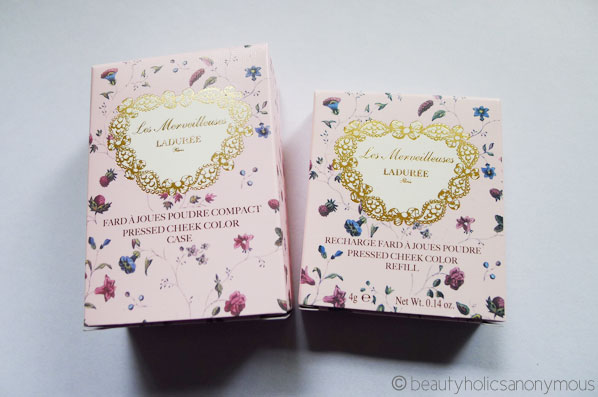 Les Merveilleuses Laduree Pressed Cheek Color