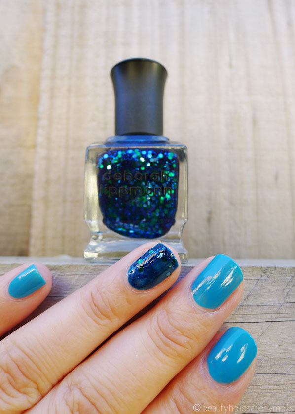 Rimmel 60 Seconds in Sky High and Deborah Lippman Across The Universe