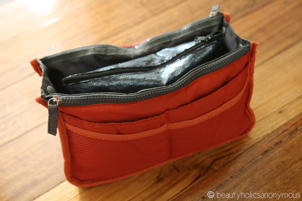Orange Bag Organiser