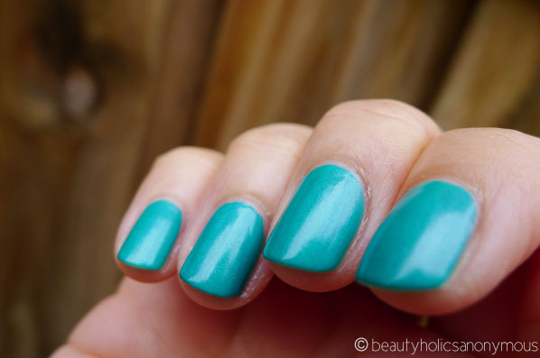 Seed Heritage Nail Polish in Emerald