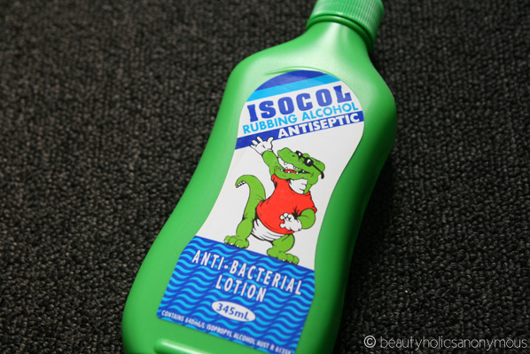 Isocol Rubbing Alcohol
