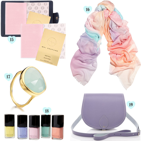 List of Lusts: Sweet Pastels