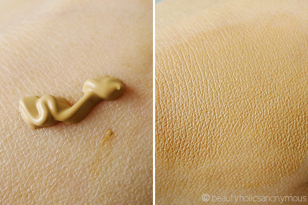 Rimmel Wake Me Up Foundation Swatch
