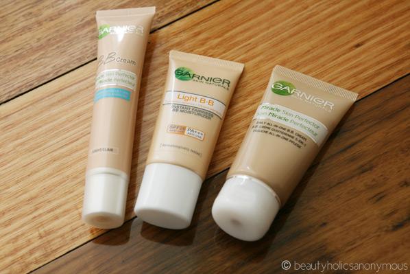 garnier bb cream oil free shades