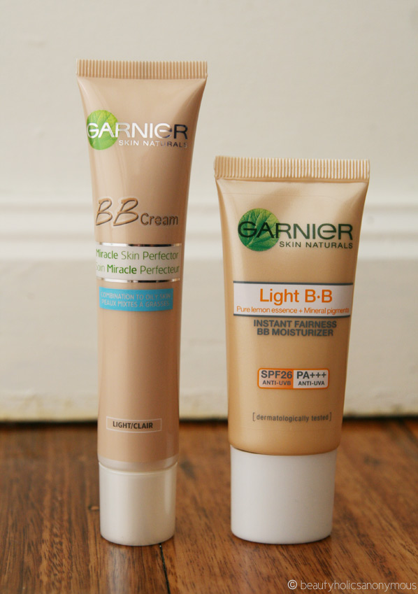 Garnier BB Creams - Australia vs Asia Once Again