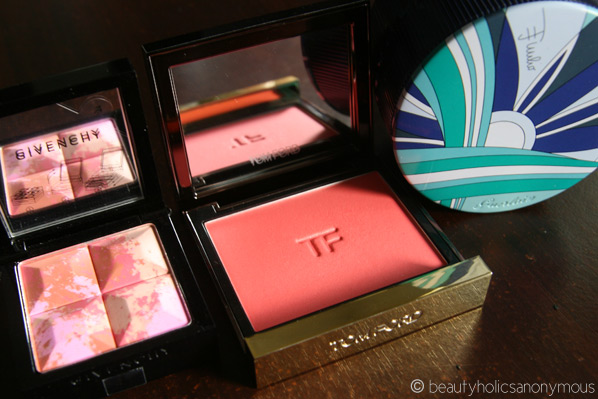 Givenchy, Tom Ford and Guerlain