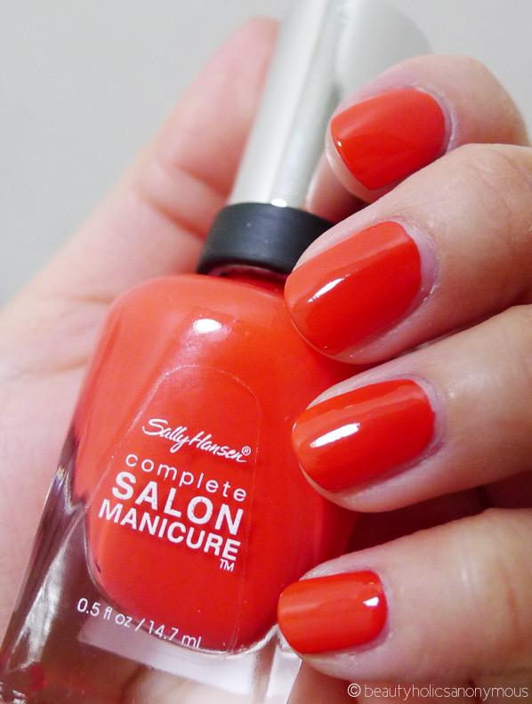 Sally Hansen Salon Manicure in Kook-A-Mango - Beautyholics Anonymous