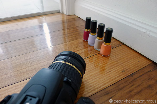 Photographing Nail Polishes