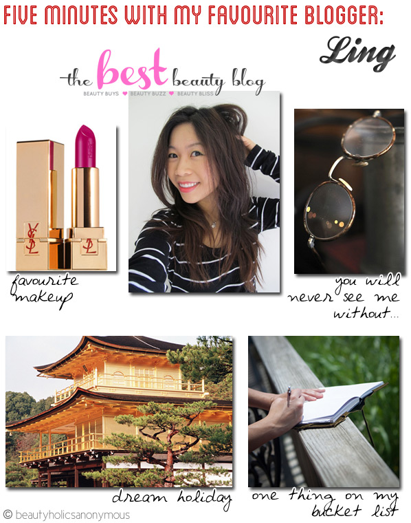 Five Minutes with My Favourite Blogger: Ling Tung of The Best Beauty Blog