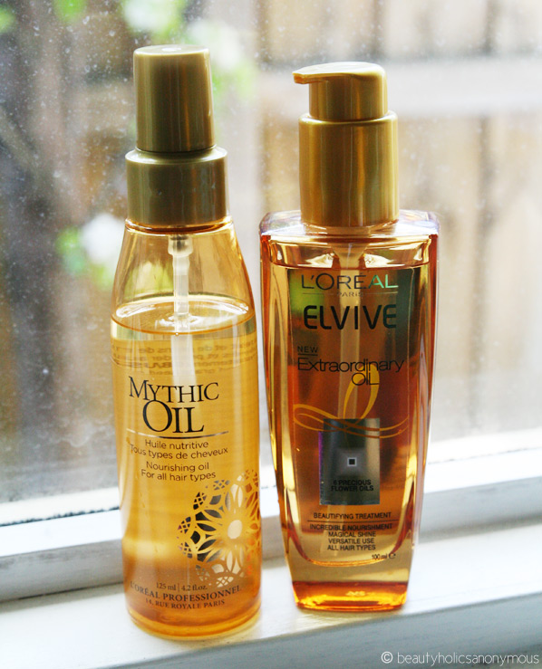 L'Oréal Professional Mythic Oil vs L'Oréal Paris Elvive Extraordinary Oil