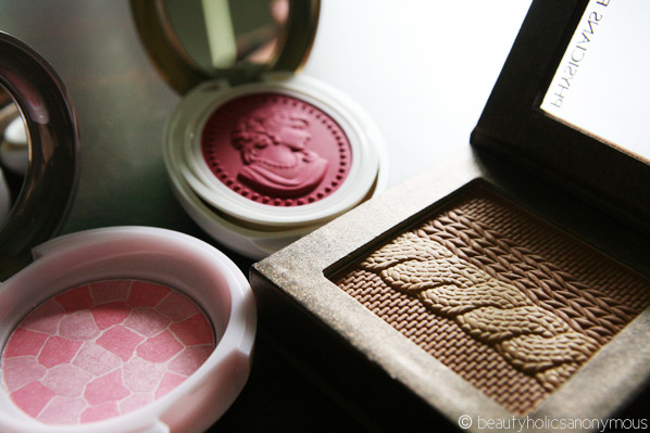 Blush or Bronzer: Missha, Laduree and Physicians Formula