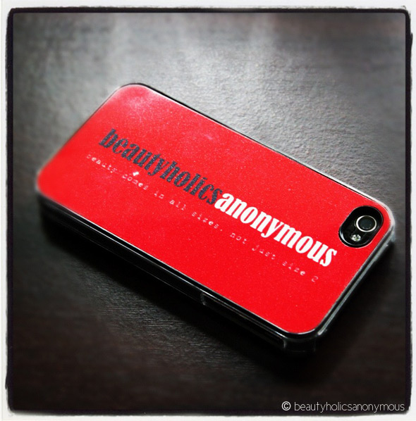 Beautyholics Anonymous Phone Cover