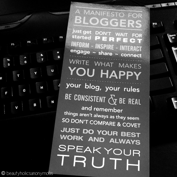 A Manifesto for Bloggers