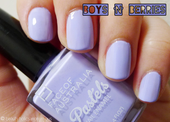 Face of Australia Pastels: Boys 'N' Berries