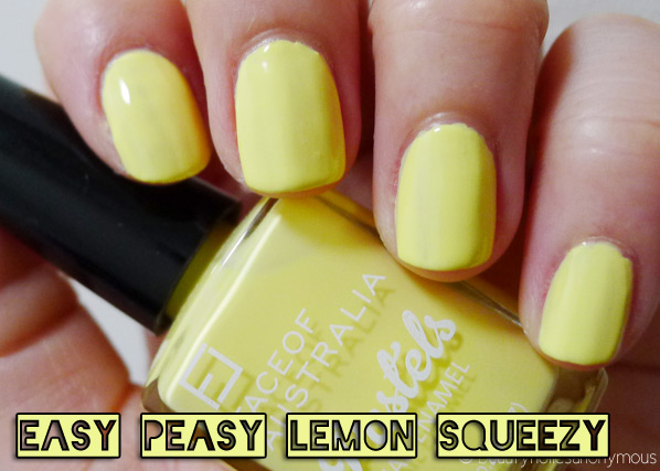 Face of Australia Pastels: Easy Peasy Lemon Squeezy