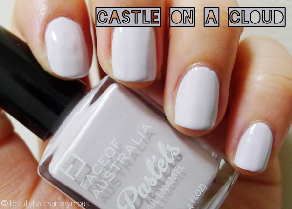 Face of Australia Pastels: Castle on a Cloud