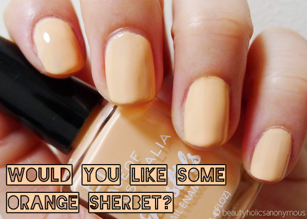 Face of Australia Pastels: Would You Like Some Orange Sherbet?