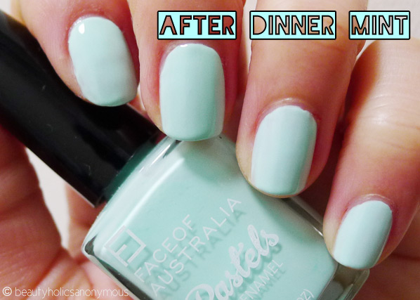 Face of Australia Pastels: After Dinner Mint