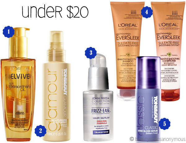Beauty That Won't Break The Bank: Haircare (Under $20)