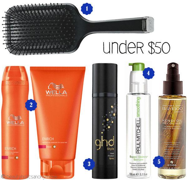 Beauty That Won't Break The Bank: Haircare (Under $50)