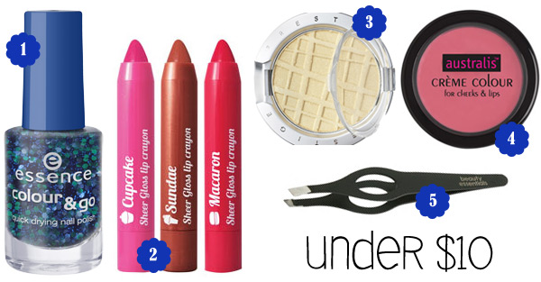 Beauty That Won't Break The Bank: Makeup Under $10
