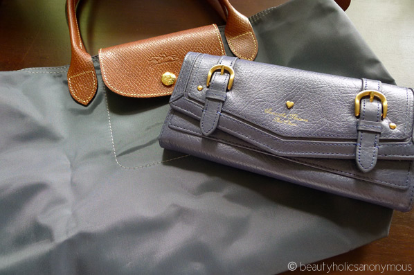 Longchamp Le Pliage and Samantha Thevasa wallet