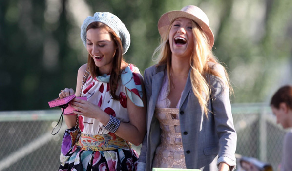 Gossip Girl Blair Waldorf and Serena Van der Woodsen