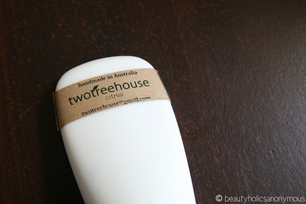 twotreehouse Body Lotion in Citrus