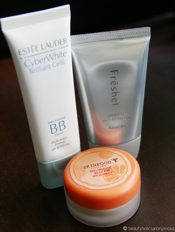 BB Creamology: Skinfood, Estee Lauder & Freshel