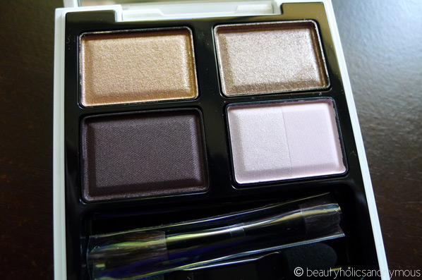 SUQQU Blend Color Eyeshadow in EX-10 Hikarikonayuki