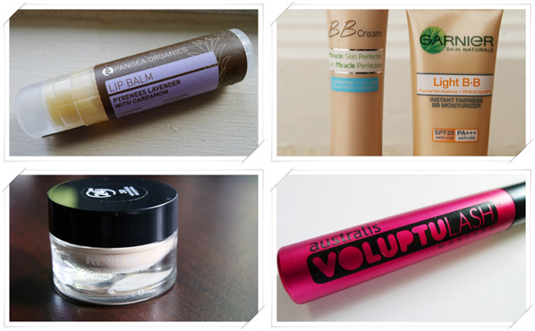Favourite BB cream, Foundation, Mascara and Lip Balm of 2012