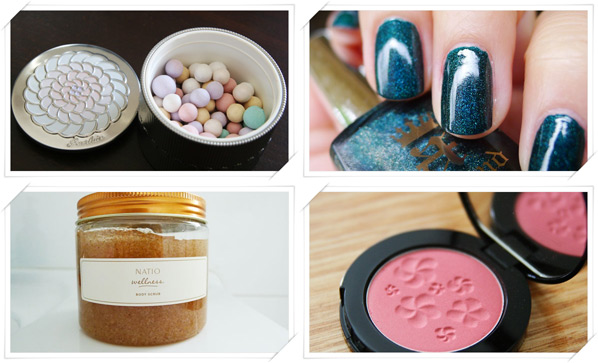 Favourite Face Powder, Nail Polish, Brand Range and Blush of 2012
