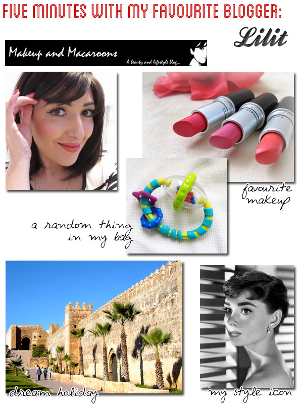 Five Minutes with My Favourite Blogger: Lilit @ Makeup and Macaroons