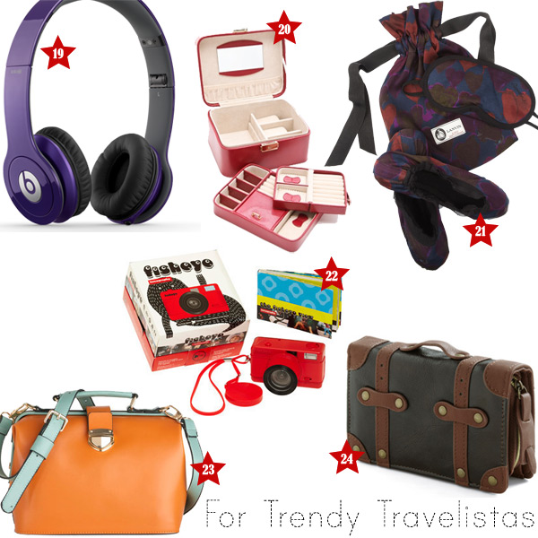 Holiday Gift Ideas: Trendy Travelistas