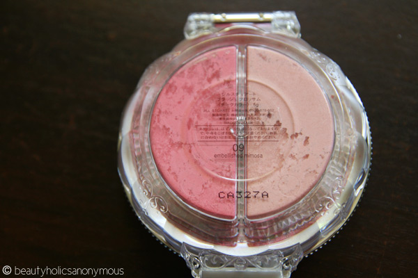 Jill Stuart Blush Blossom Dual Cheek in 09 Embellished Mimosa
