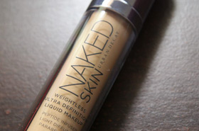 More Urban Decay Naked Goodness with the NAKED SKIN Weightless Ultra Definition Liquid Makeup