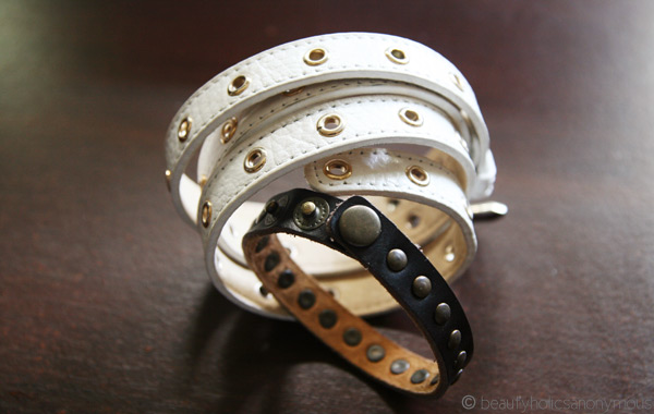 Mocha Leather Cuffs